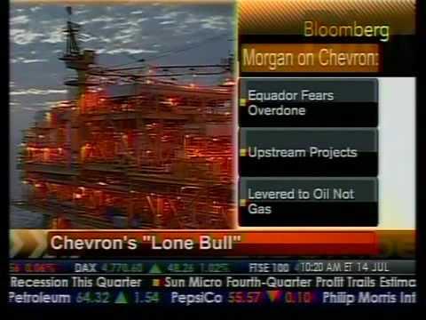"""Chevron's """"Lone Bull"""" - Bloomberg"""