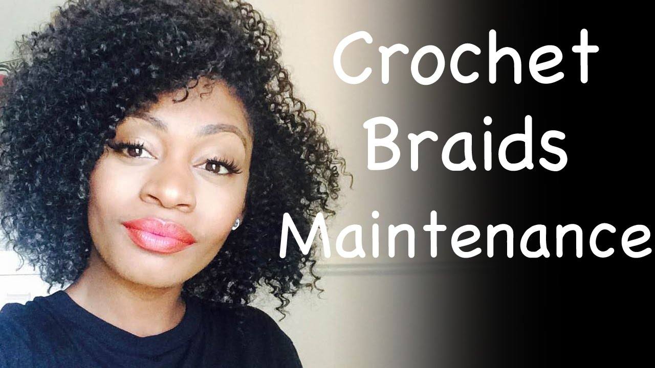 Crochet Curly Hair Youtube : ... How To Take Care Of Curly Crochet Braids Water Wave Hair - YouTube