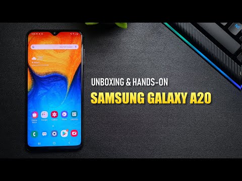 Samsung Galaxy A20 Indonesia : Unboxing & Hands-On Review