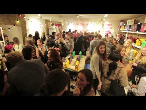 The Cambridge Satchel Company East London Pop Up Store - Launch Party