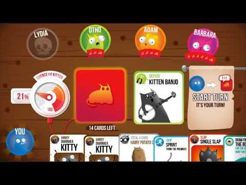 Exploding Kittens® - Official store video