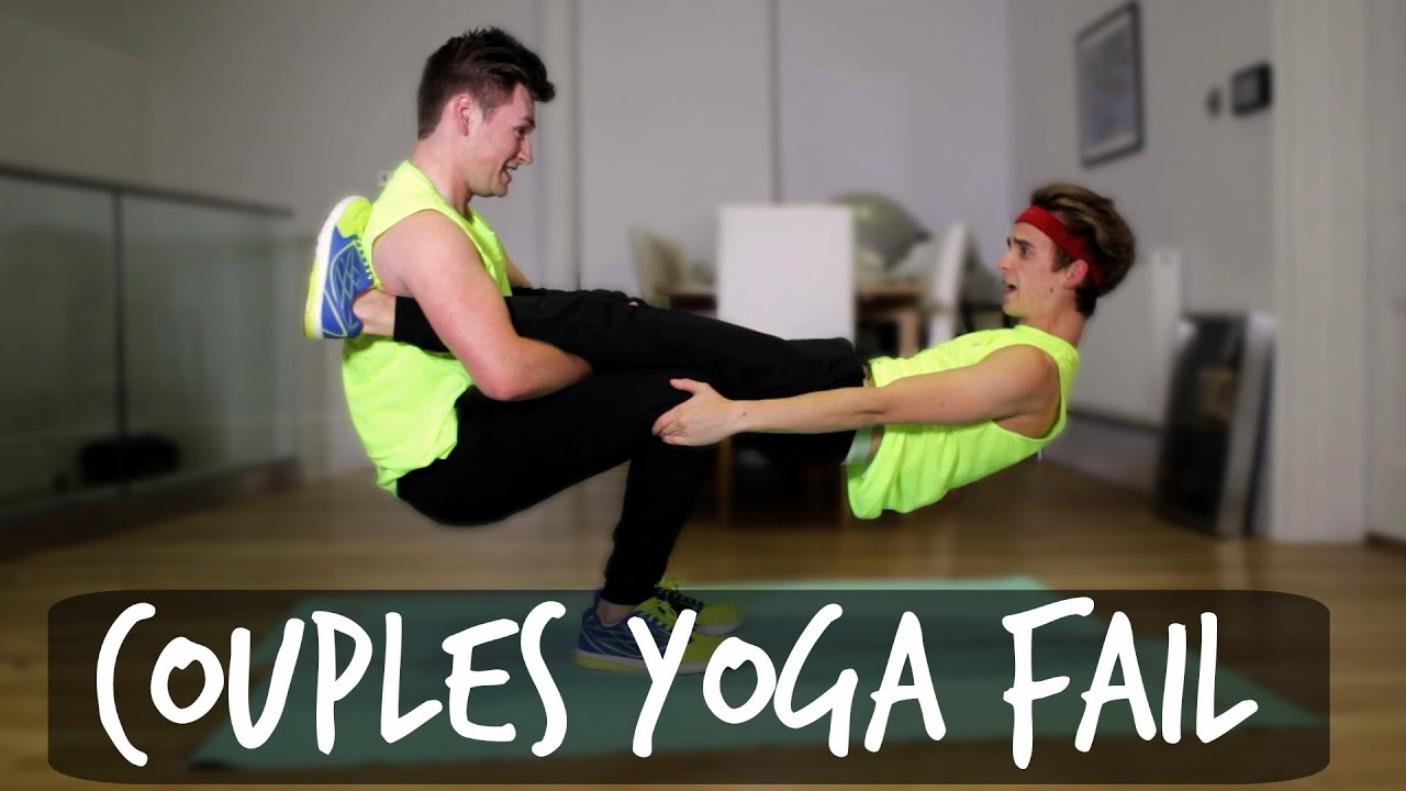 COUPLES YOGA FAIL