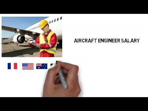 Aeronautical Engineer Salary | Aircraft Engineer salary