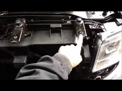 2014 Gmc sierra headlight removal - YouTube