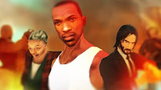 Storming Area 51 in GTA San Andreas