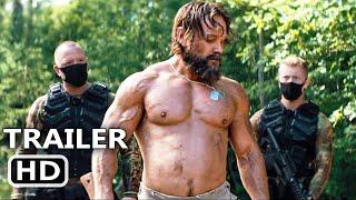 LAST MAN DOWN Trailer (2021) Daniel Stisen, Action Movie