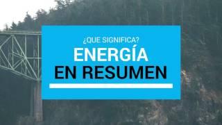 Definicion energía inquieta
