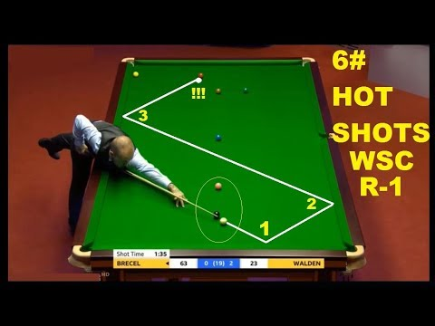 WSC 2018!!! (6) UNEXPECTED UNBELIEVABLE HOT SHOTS OF ROUND- 1
