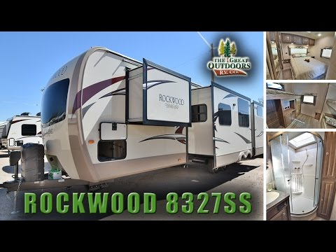 New Bunk Model 2018 FOREST RIVER ROCKWOOD 8327SS R1096 Camper Trailer Colorado Dealer