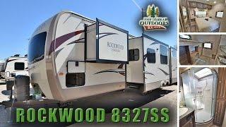 New Bunk Model 2018 FOREST RIVER ROCKWOOD 8327SS R1096 Camper Trailer Colorado Dealer