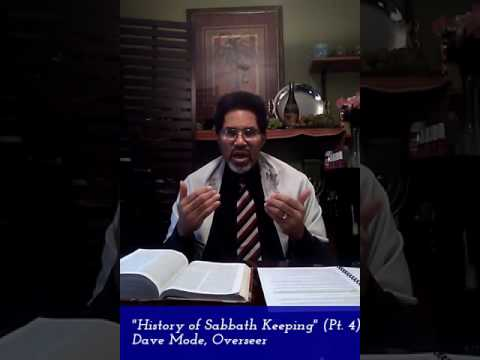 History of Sabbath Keeping in the Messianic Community Pt. 4