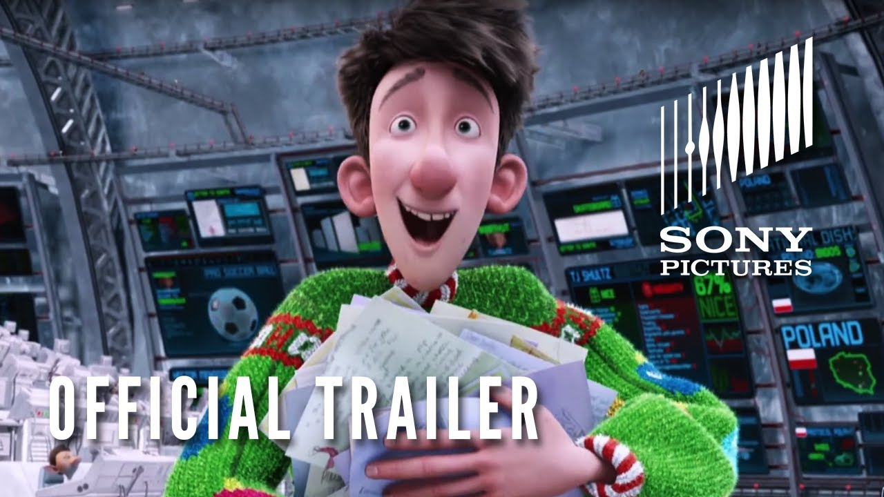 Arthur Christmas Characters.Arthur Christmas Official Trailer In Theaters 11 23