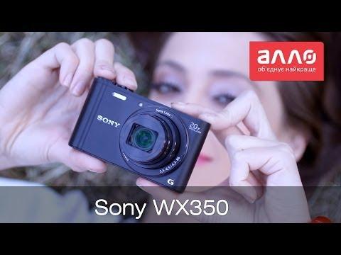 Видео-обзор фотокамеры Sony CyberShot DSC-WX350