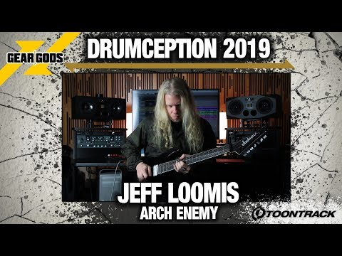JEFF LOOMIS New Original Song For DRUMCEPTION 2019 (Arch Enemy) | GEAR GODS