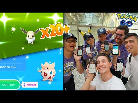 THE #1 POKÉMON GO EVENT YET! BREAKING RECORDS AND PHONES!