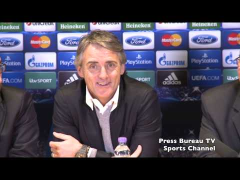 Roberto Mancini reaction Chelsea vs Galatasaray