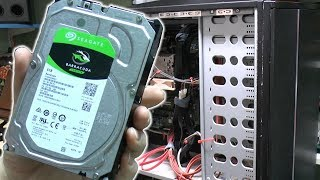 Installing an additional 6TB Hard Drive