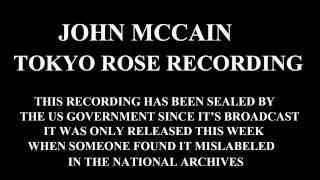 John McCain - 1969 Tokyo Rose Vietnam Confession
