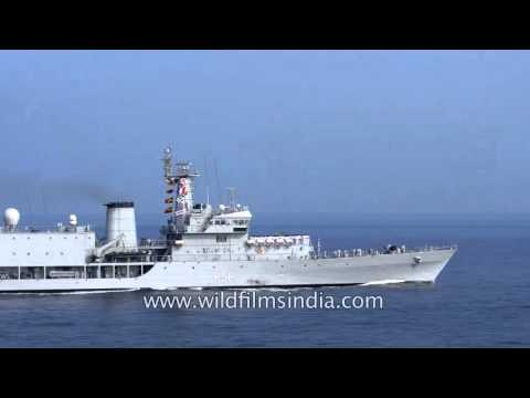 INS Tir, the 1st training squadron ship of Indian Navy's Southern Naval Command