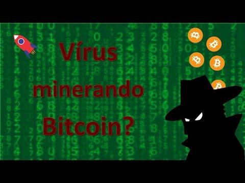 Vírus Minerando Bitcoins No Meu Computador!