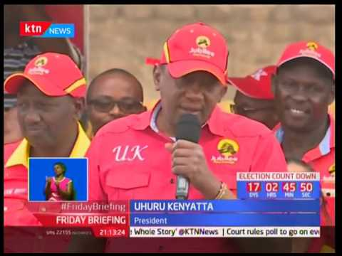 UhuRuto take campaigns to Nairobi while pushing support for Jubilee candidates
