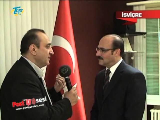 YTB Başkanı Kemal Yurtnaç İsviçre'de vatandaşlarla bir araya geldi