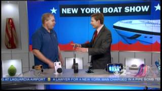CBS NY Boat Show - Buzz about the Bike..a Big Hit! Thumbnail