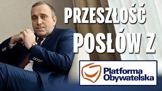 Przeszłość posłów z Platformy Obywatelskiej (część 4).