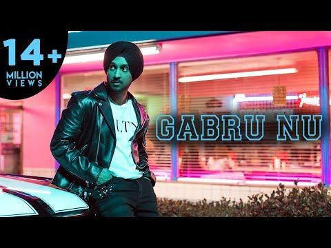 DILJIT DOSANJH - GABRU NU | IKKA | RISHI RICH ( OFFICIAL VIDEO )