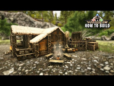 ARK - Beginner House Level 20 - How To Build