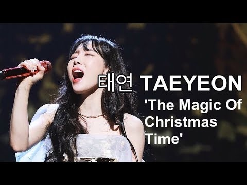 TAEYEON (태연) -  'The Magic Of Christmas Time' Vocal Highlights | 라이브 음역대