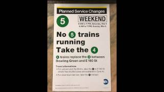 NYC Subway HD Audio: Special FASTRACK NTT Announcement Recording