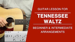 Tennessee Waltz - Guitar Lesson