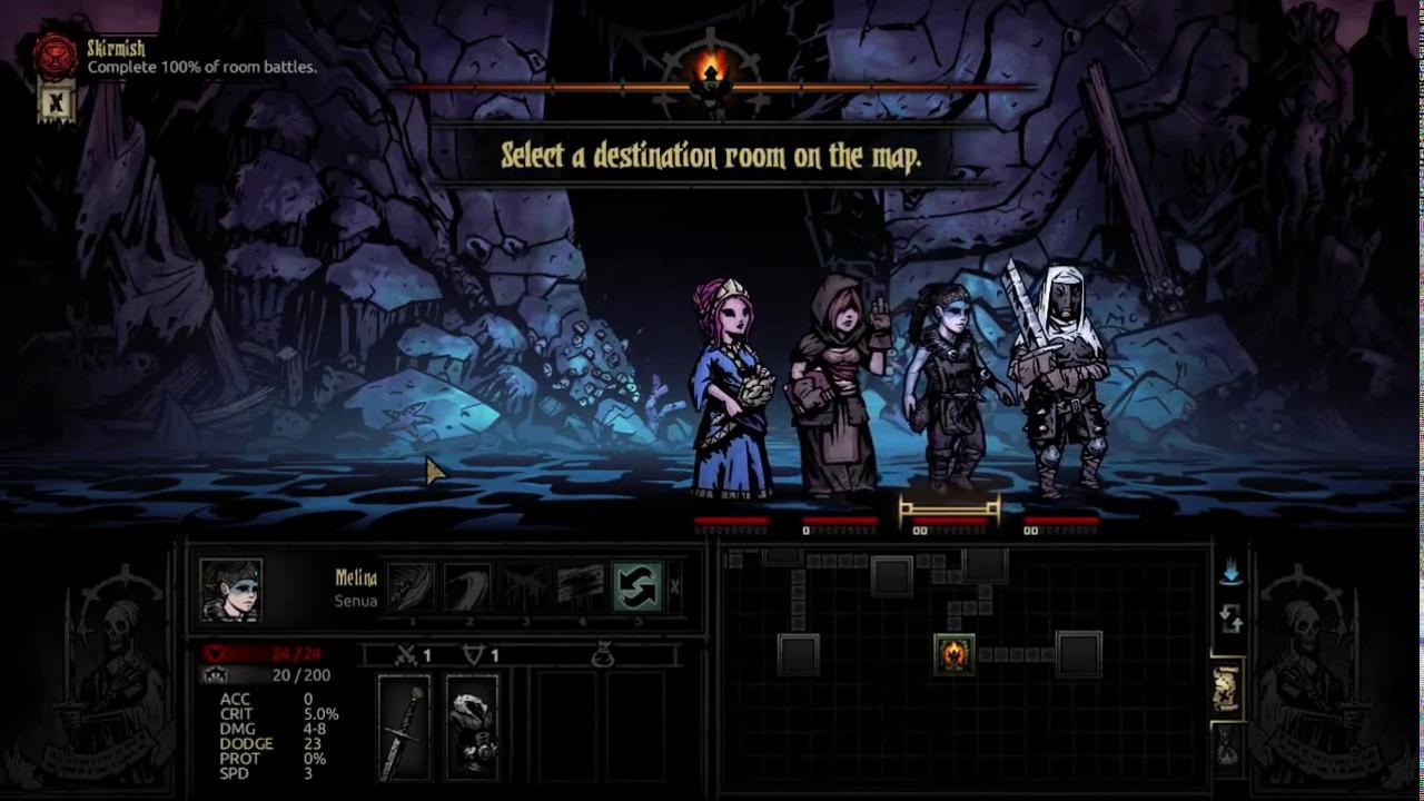Darkest Dungeon Senua Animation Test Youtube