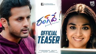 #RangDe Official Teaser | A Cute Marriage Gift to our Hero Nithiin from team #RangDe