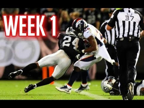 The Hardest Hits Of Week 1 | 2019 NFL Season || HD