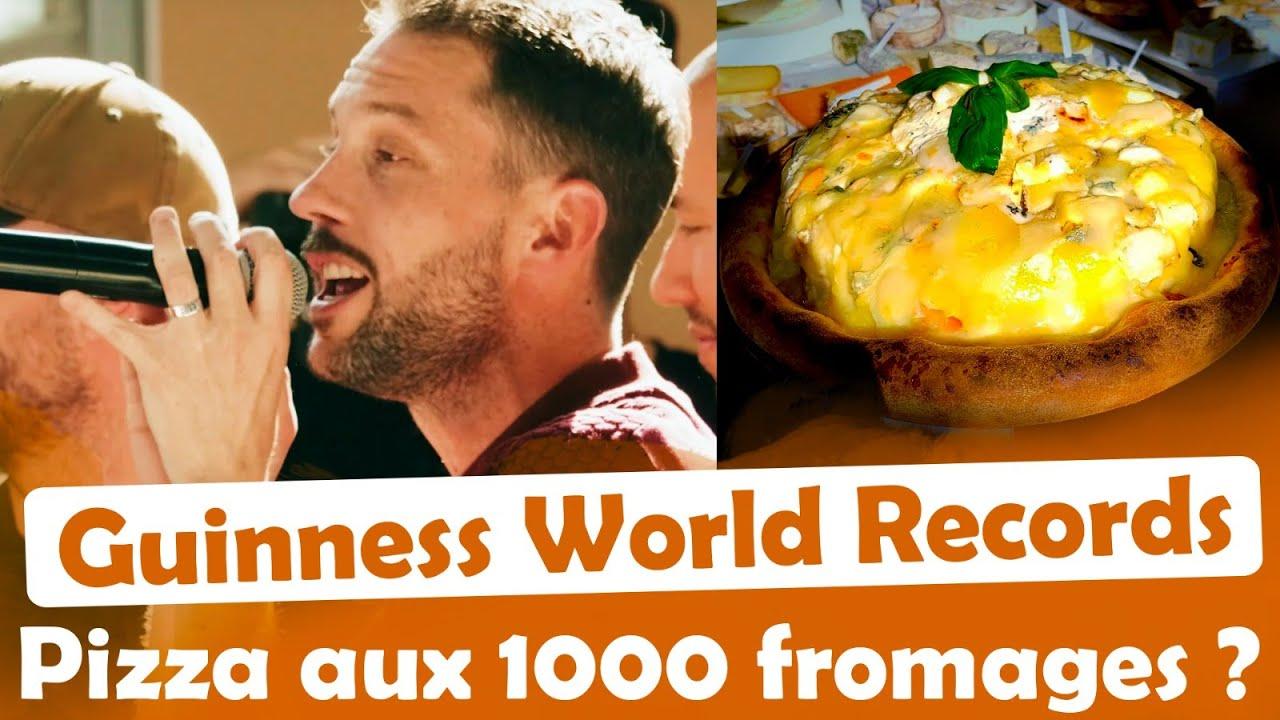 Pizza aux 1000 Fromages ? RECORD DU MONDE !