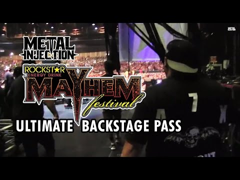 MAYHEM FEST 2014 - Ultimate Backstage Pass with Festival Staff | Metal Injection