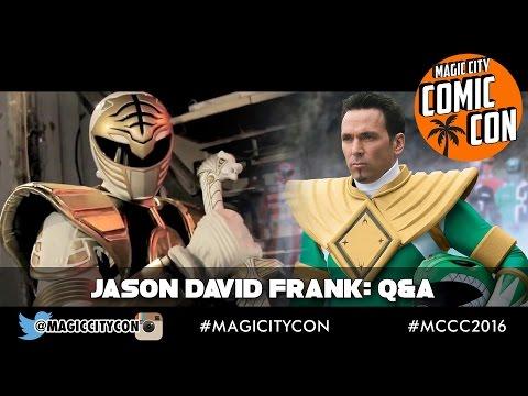 Jason David Frank the Green Power Ranger Q&A at Magic City Comic Con Jan 2016
