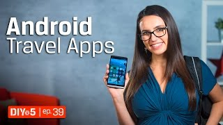 Android Tips – The Best Android Traveling Photography Apps 📱DIY in 5 Ep 39