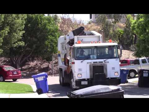 Daily Disposal's Labrie Automizer (Ex. City of San Bernardino Integrated Waste Management Truck)