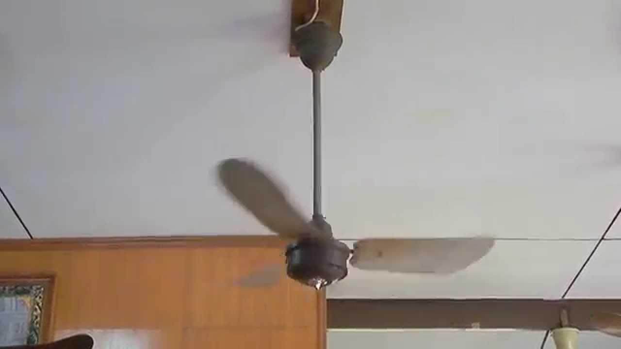 36 D E M C Ceiling Fan 110v Original Oiwai Electric Co Ltd Made In Hong Kong You
