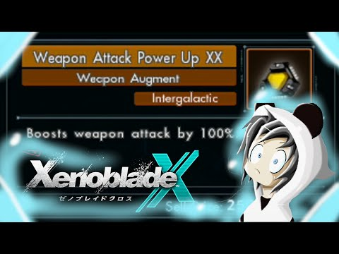 Xenoblade Chronicles X : Weapon Attack Power Up XX - Craft Guide - Panda Frost
