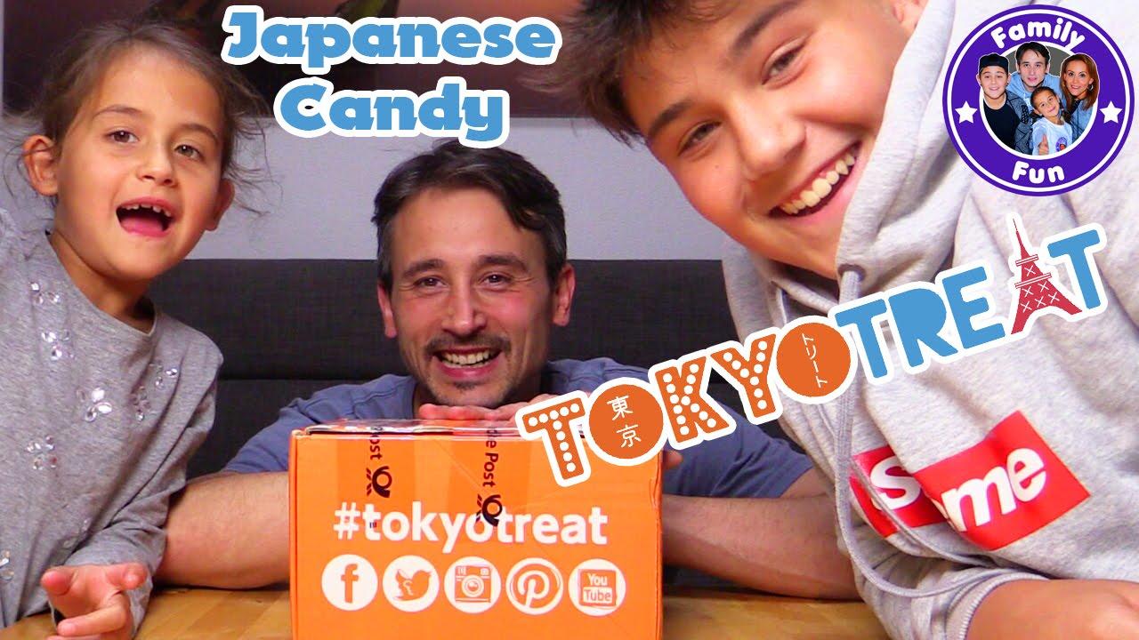 Download JAPANISCHE SÜßIGKEITEN BOX    TOKYO TREAT Japanese Candy Taste Test   FAMILY FUN