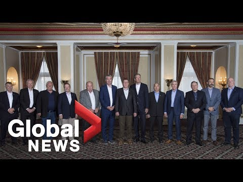 Canada's premiers talk knocking down trade barriers