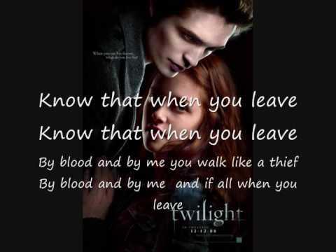 Twilight, New Moon, Possibility von Lykke Li, Lyrics