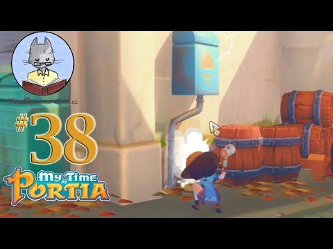 My Time at Portia 38 - Fixing the Electrical Box
