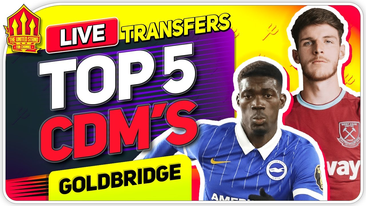 Solskjaer's TOP 5 CDM Transfer Targets! Man Utd Transfer News
