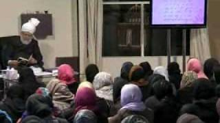 Gulshan-e-Waqfe Nau (Lajna) Class: 9th January 2010 - Part 5 (Urdu)