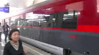 オーストリア国鉄特急レールジェツトの旅(ザルツブルグ〜ウィーン)